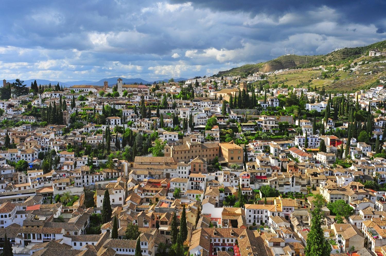 Красивая Андалусия