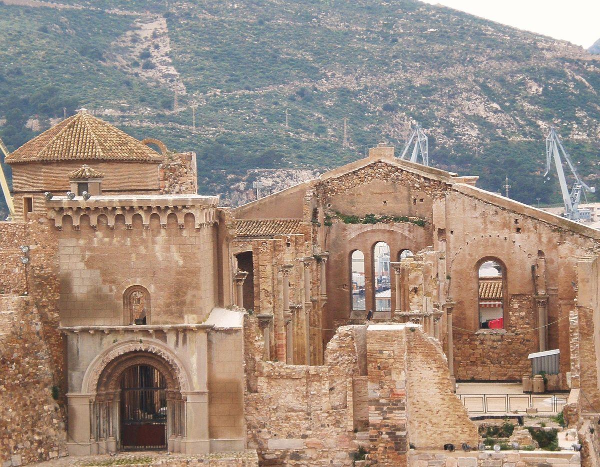 Руины старого кафедрального собора Картахены
