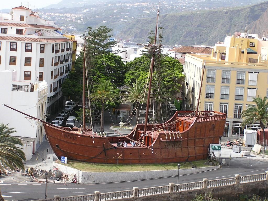 копия корабля Колумба