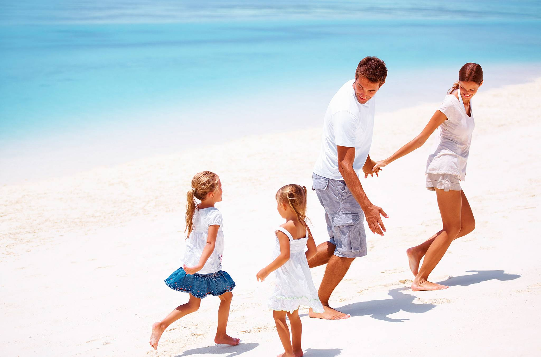 Прогулка с семьей