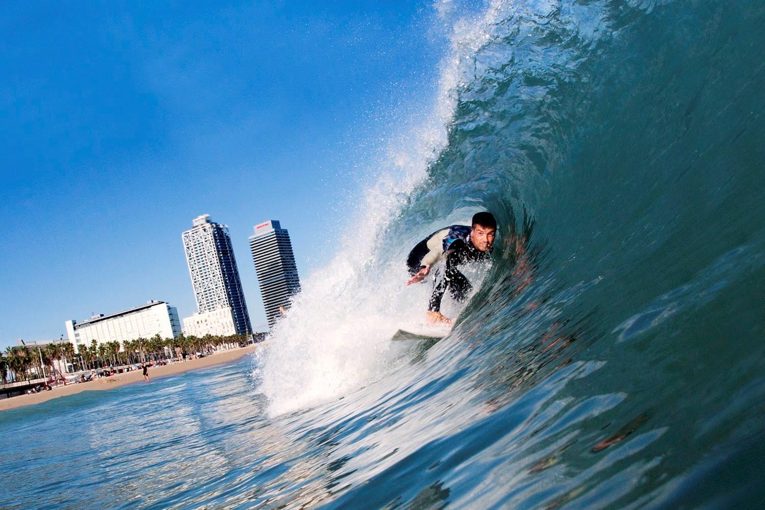 Серфинг в Каталонии
