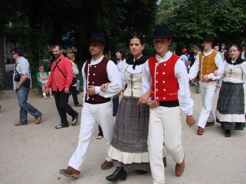 Национальная одежда в Галисии