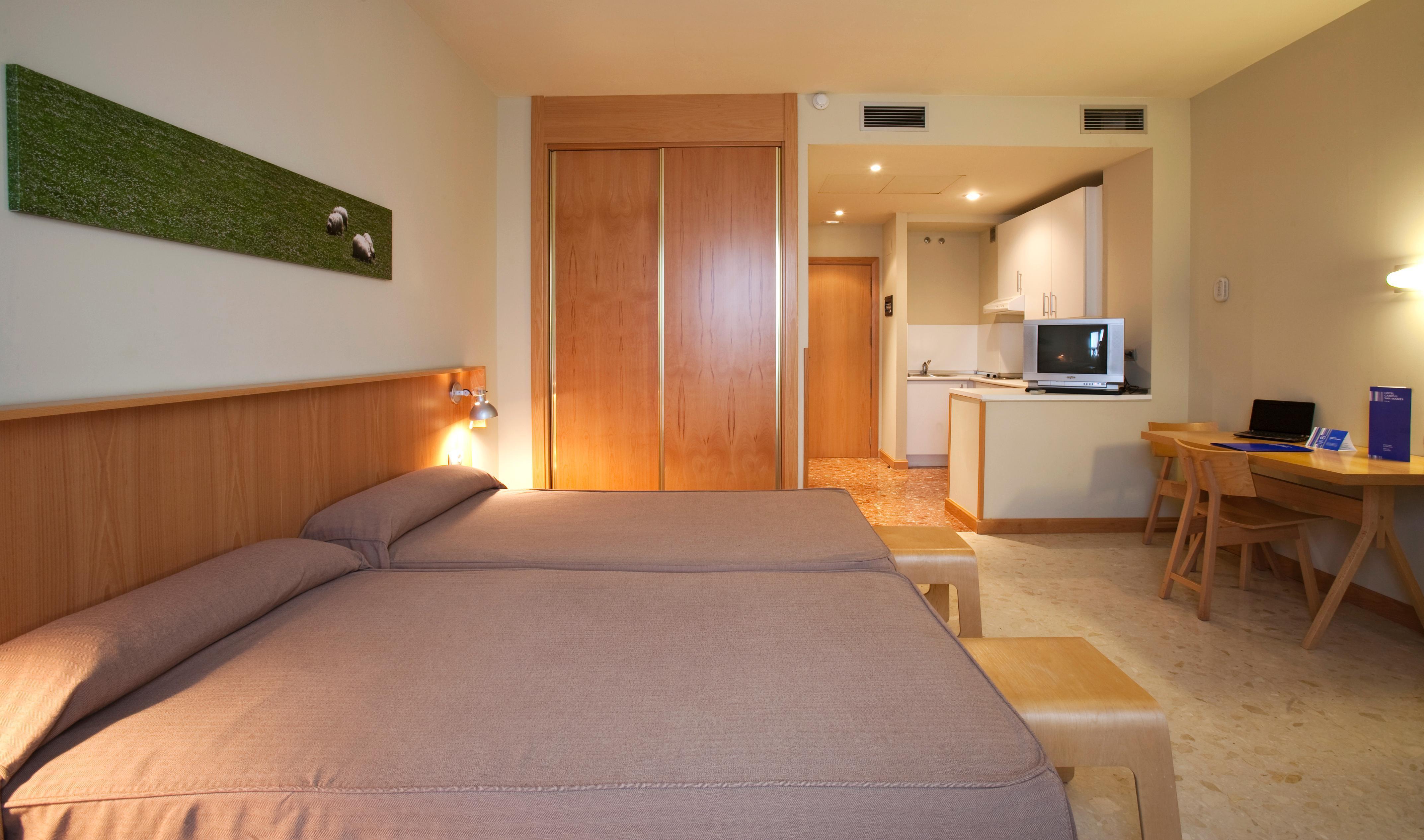 Номер в отели Apartahotel Exe Campus San Mames