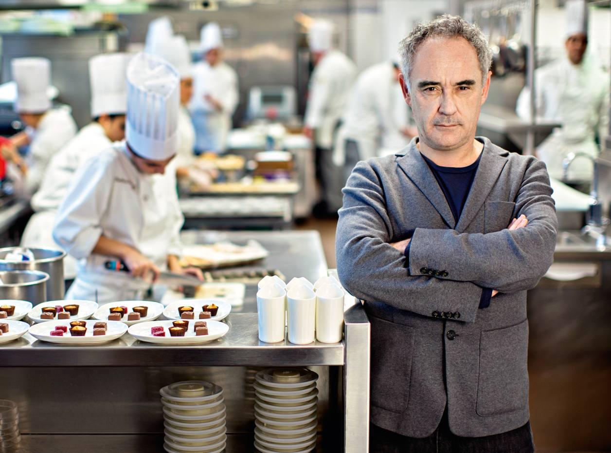 Шеф-повар и ресторатор Ферран Адриа