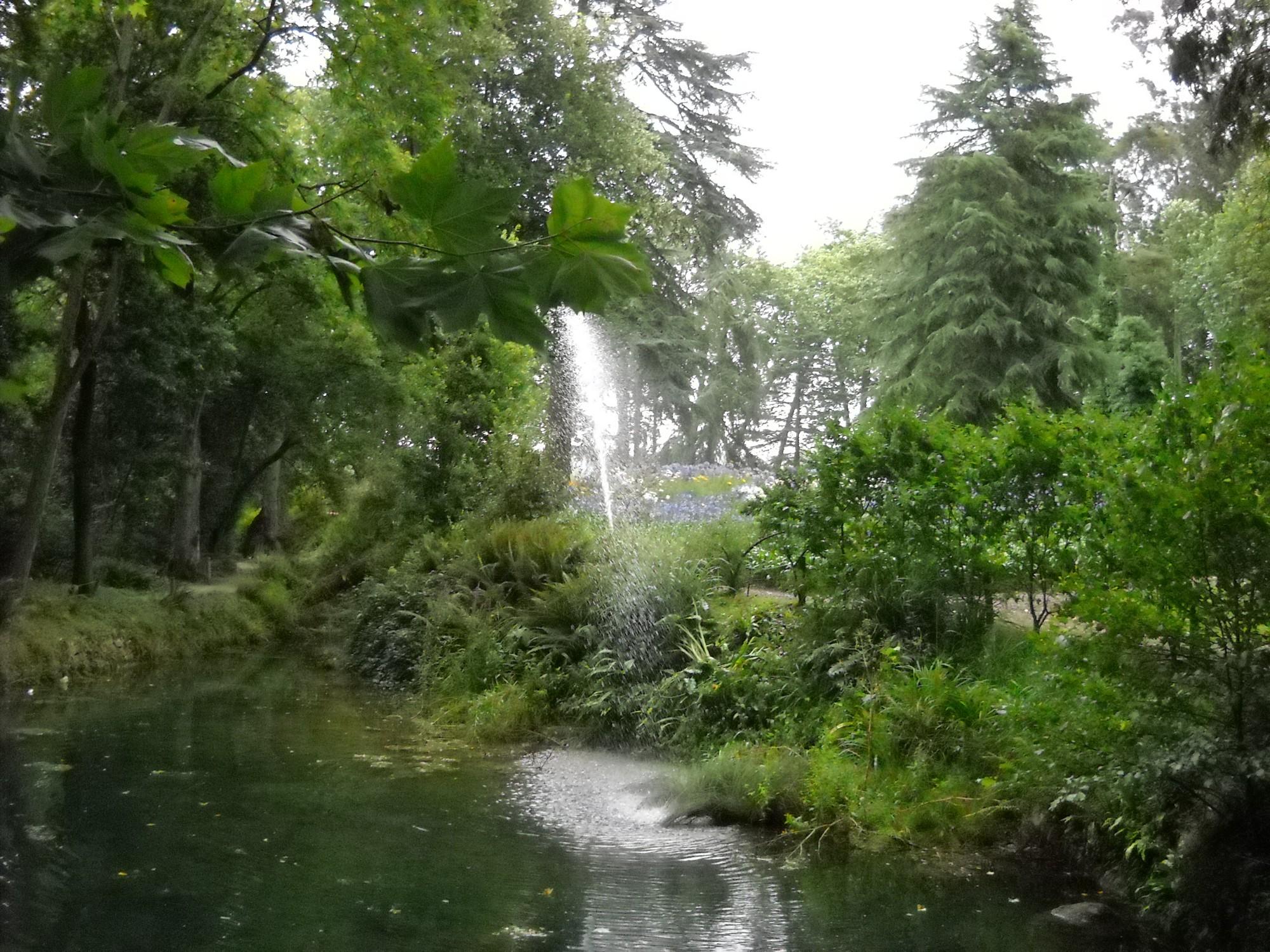 Атлантический ботанический сад недалеко от города Хихон