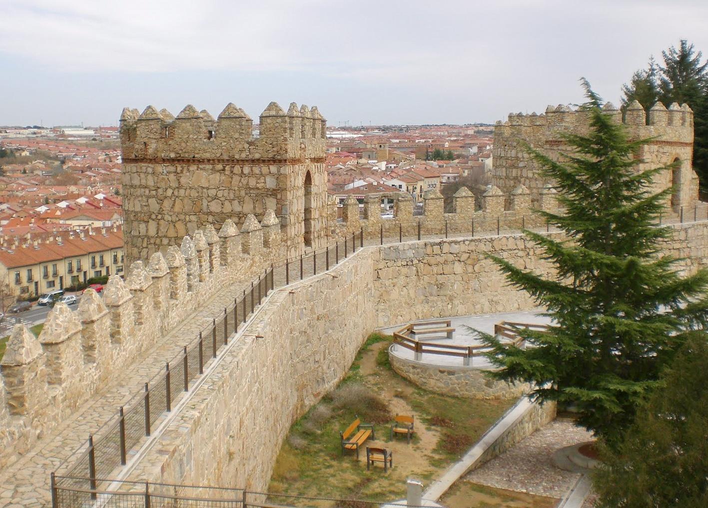 Крепостная стена в города Авила