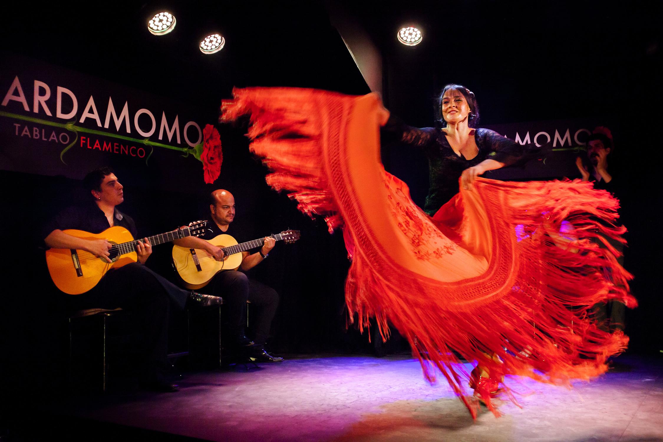 "Фламенко-шоу ""La Taberna de Mister Pinkleton"""