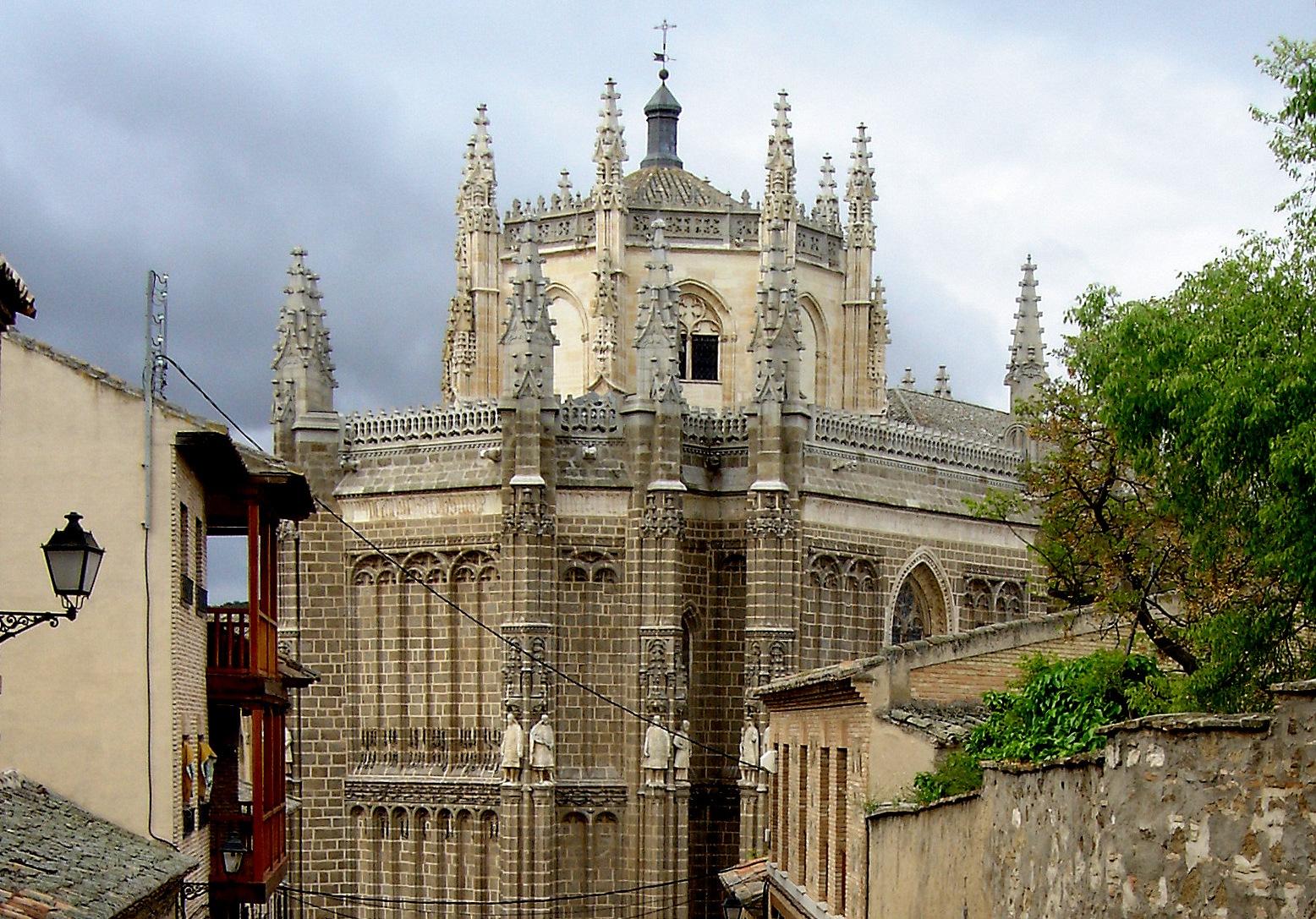 Монастырь Сан-Хуан-де-лос-Рейес в Толедо