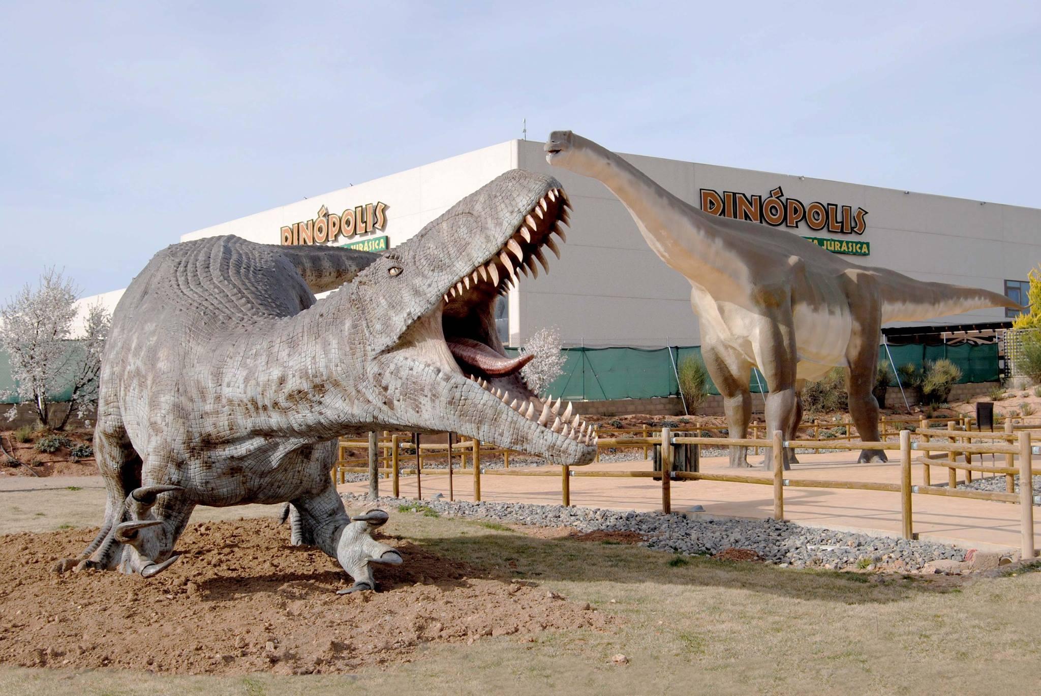 Парк динозавров в Теруэле «Динополис»