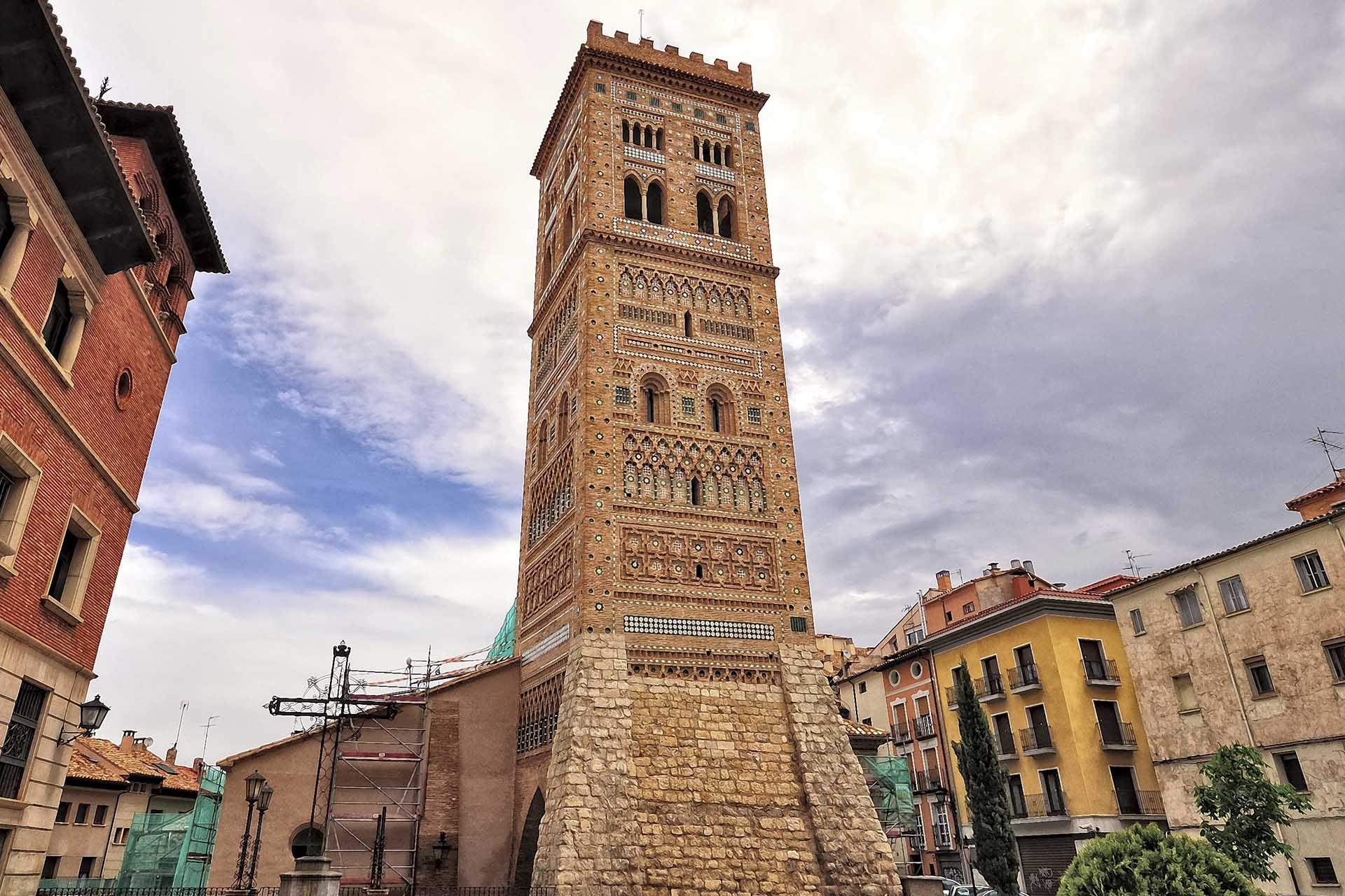 Башня Спасителя в городе Теруэль