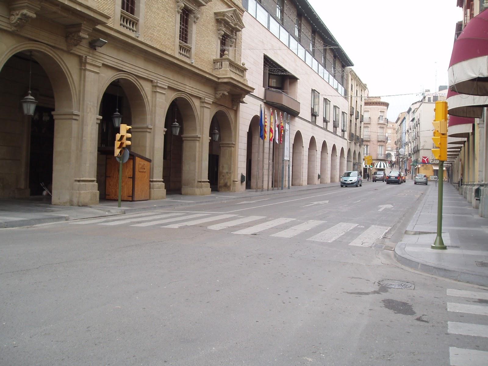 Улица Косо-Бахо в Уэске
