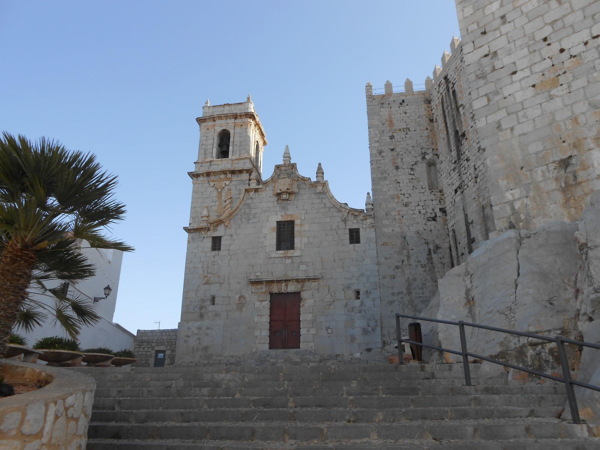 Замок Папа Луна в Пеньисколе