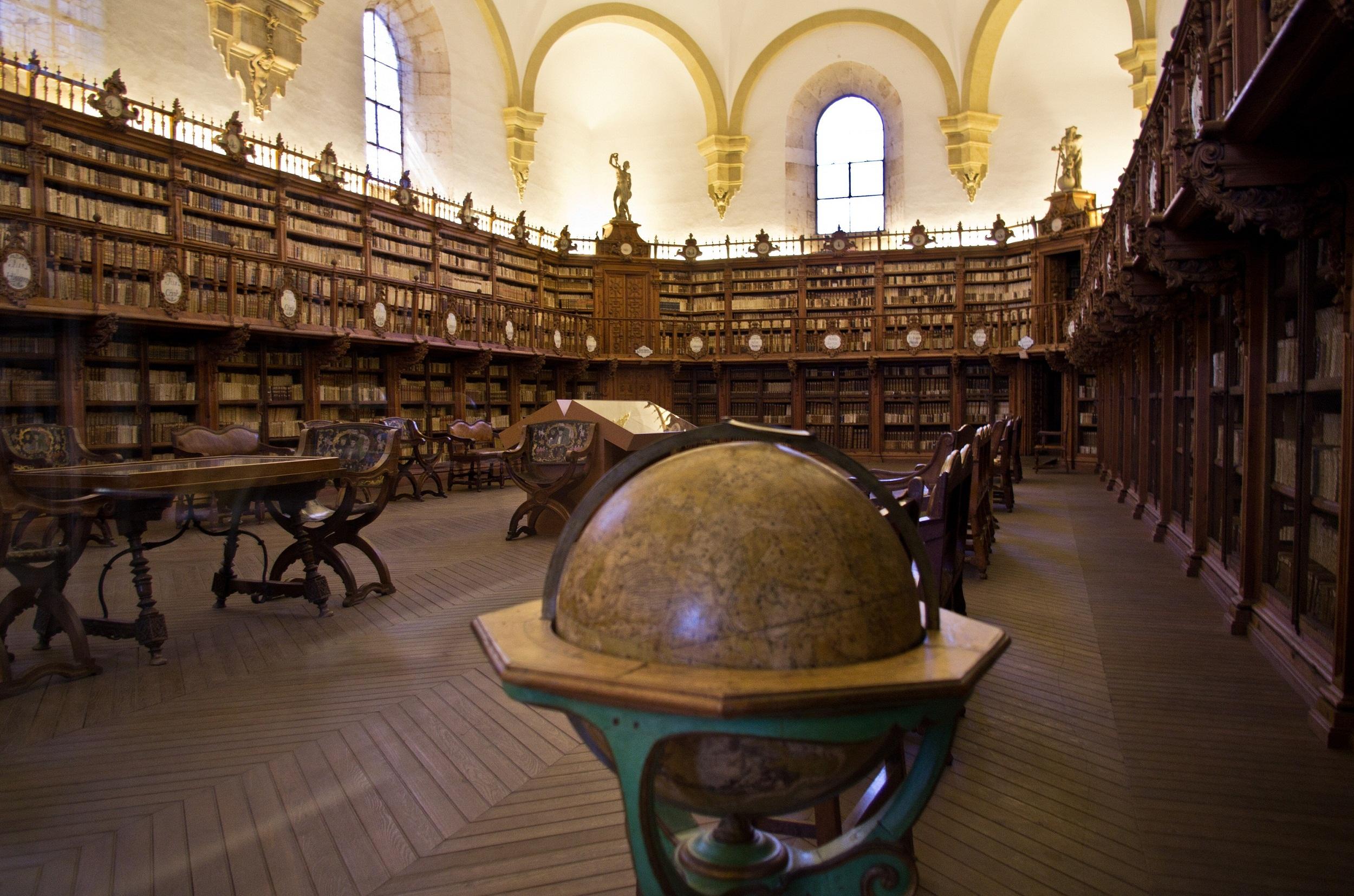 Библиотека университета в Саламанке