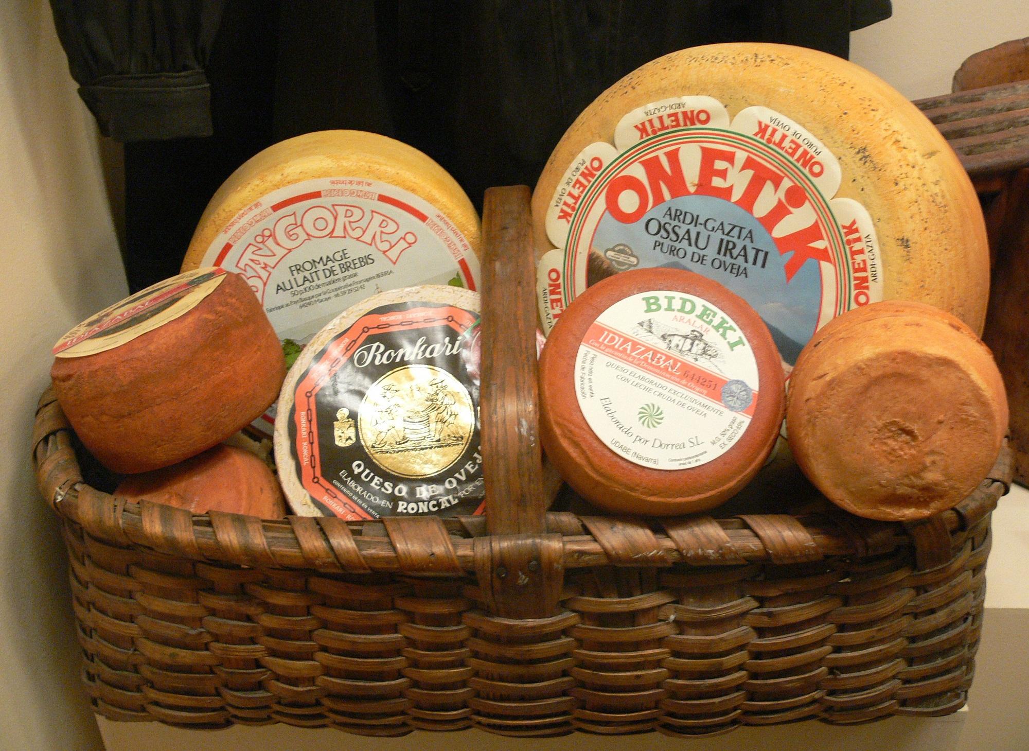Разновидность сыров Испании