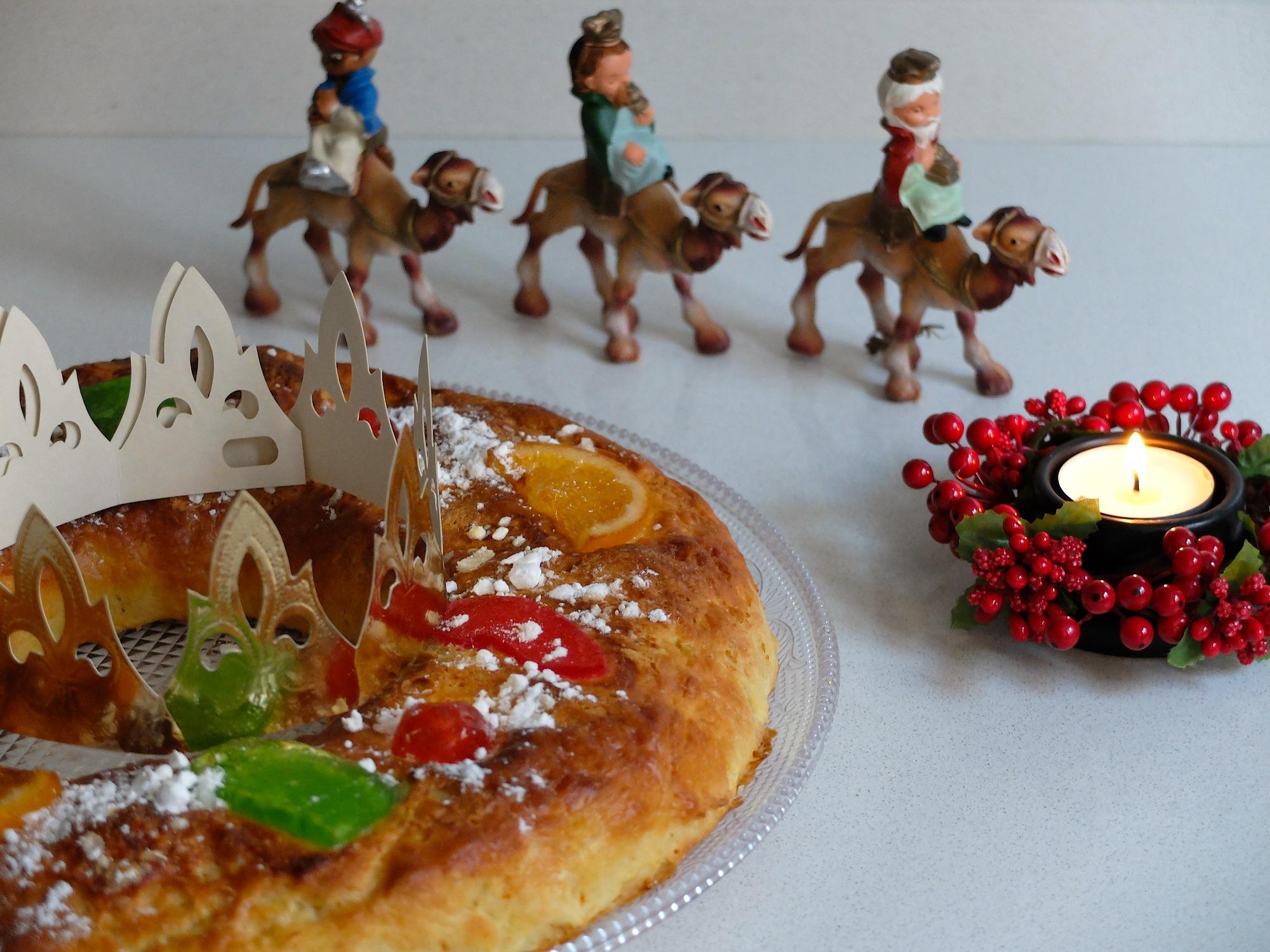 Пирожное королей tortell de reis