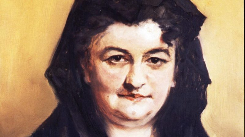 Портрет писательницы Эмилии Пардо Басан
