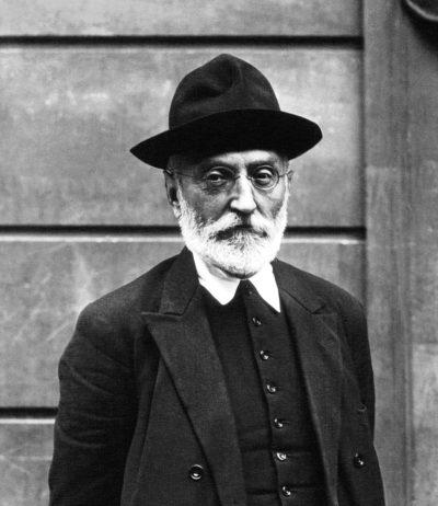 Портрет писателя Мигеля де Унамуно
