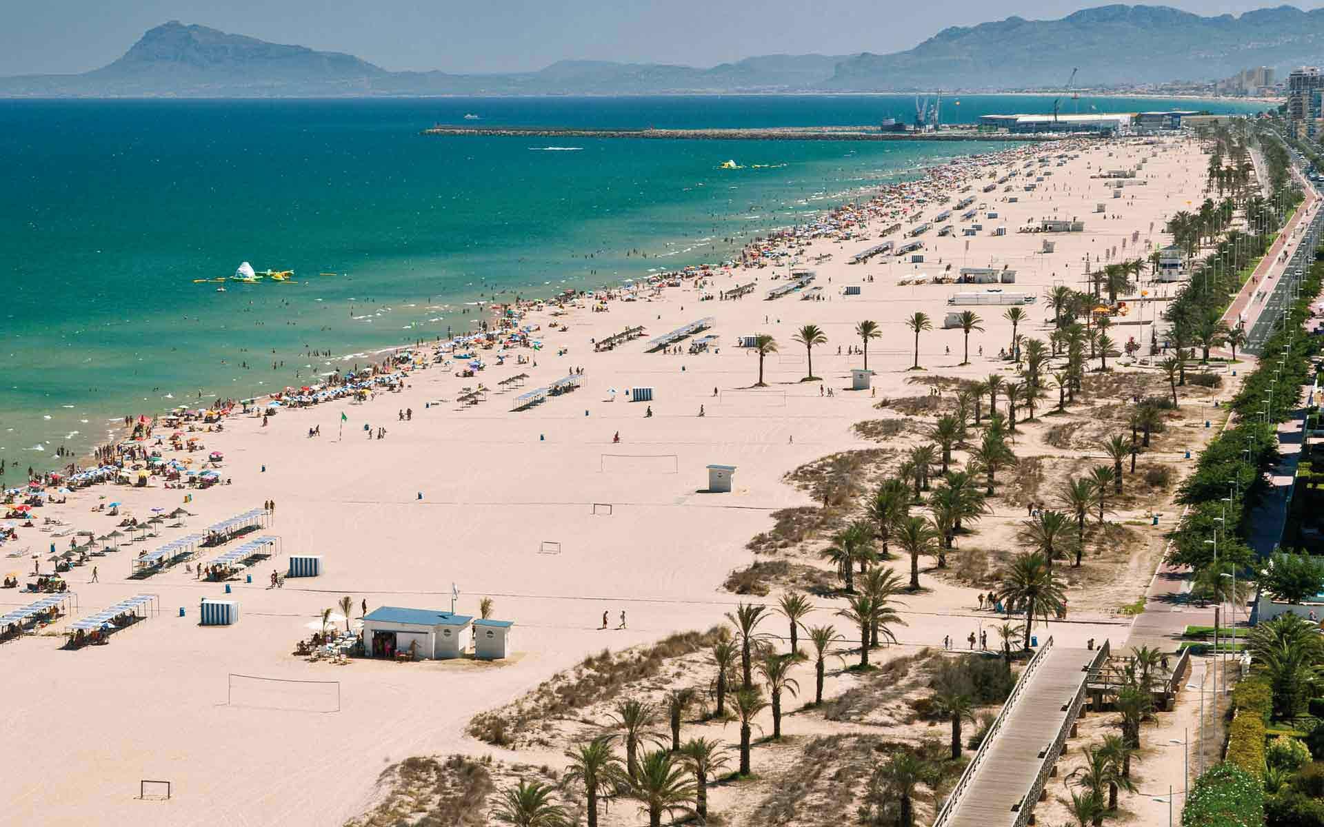 Пляж Гандия