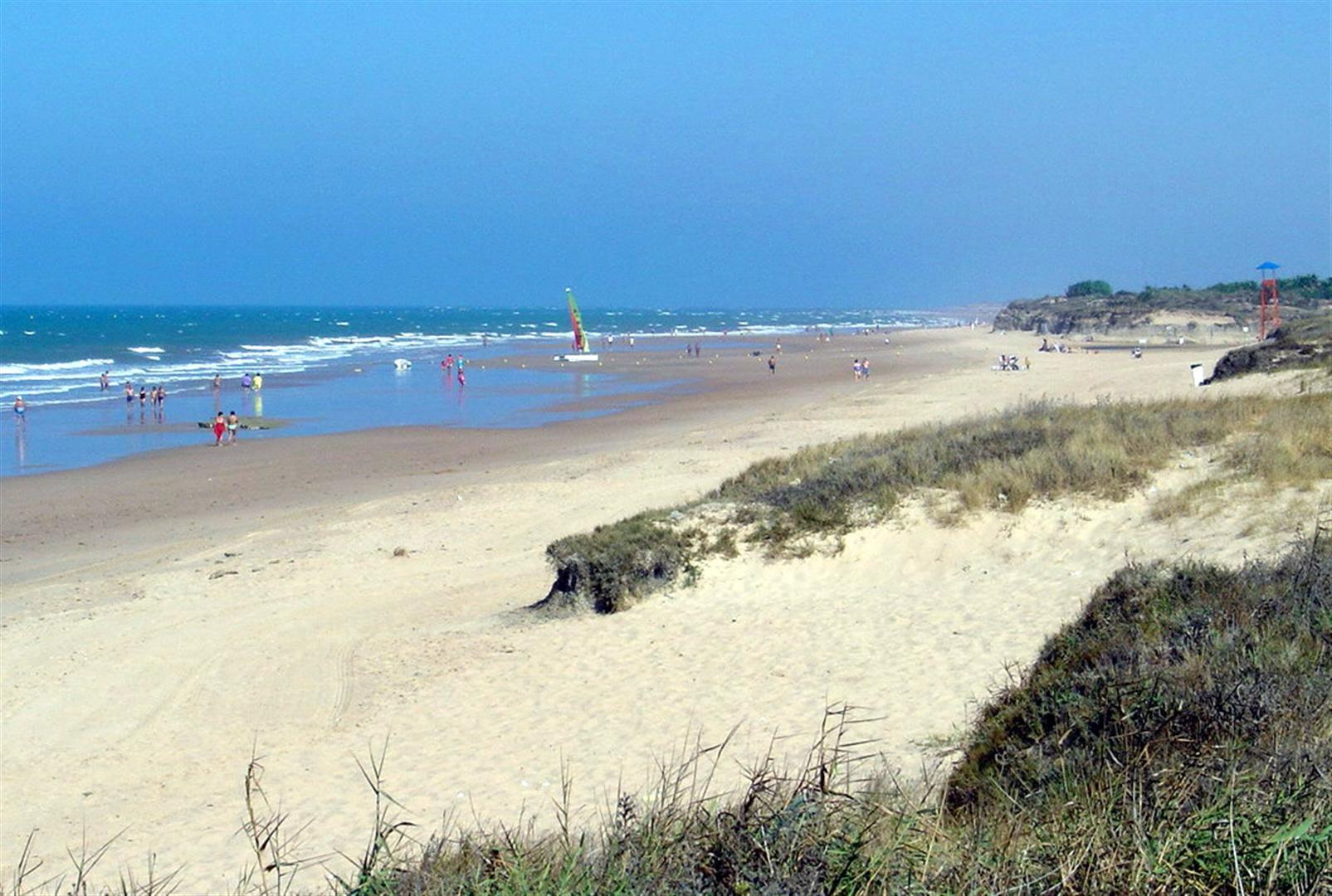 Пляж Playa de Costa Ballena