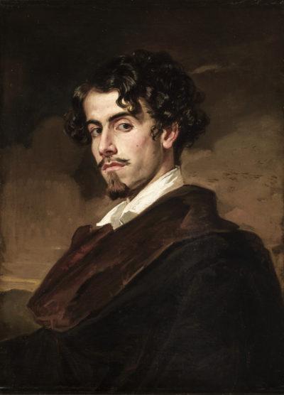 Портрет литератора Густаво Адольфо Беккера