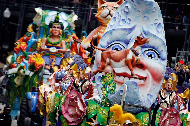 Февральский карнавал в Испании