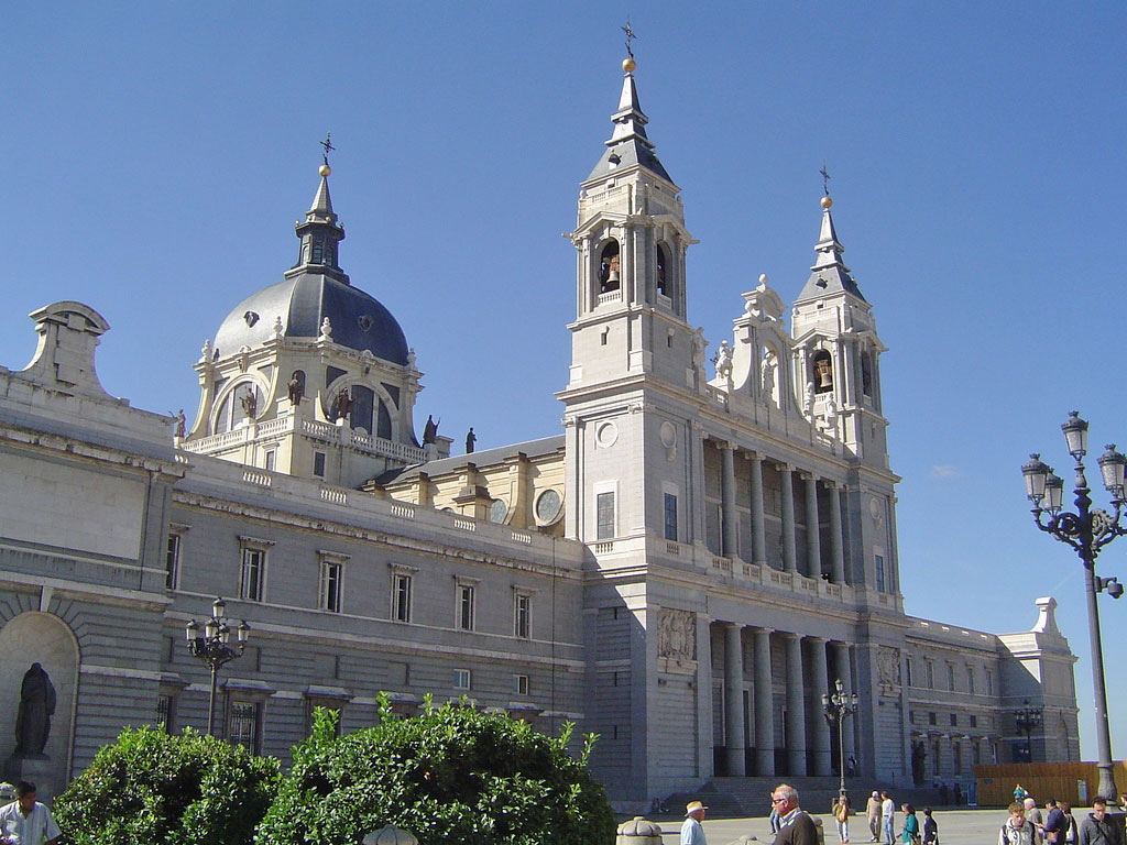 Кафедральный собор в Мадриде