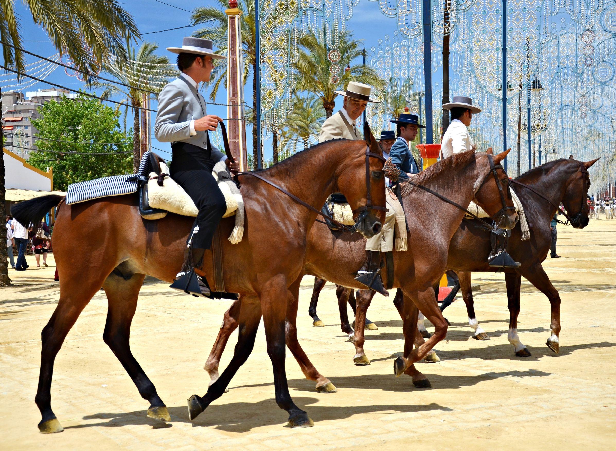 Лошадиная ярмарка в Херес-де-ла-Фронтере