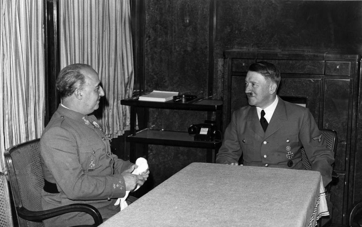 Испанский диктатор Франсиско Франко