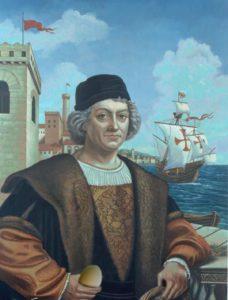 Портрет Христофора Колумба