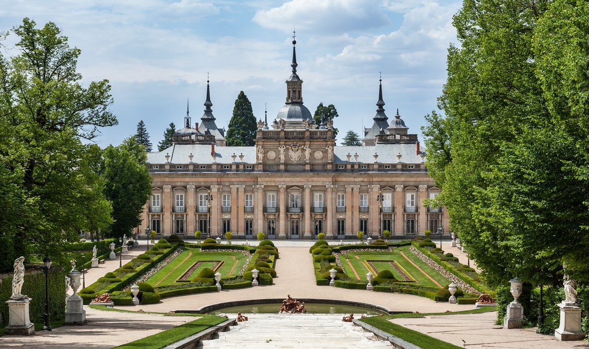 Королевская резиденция в Ла-Гранха-де-Сан-Ильдефонсо