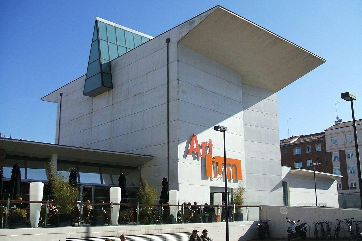 Баскский музей современного искусства в Витории