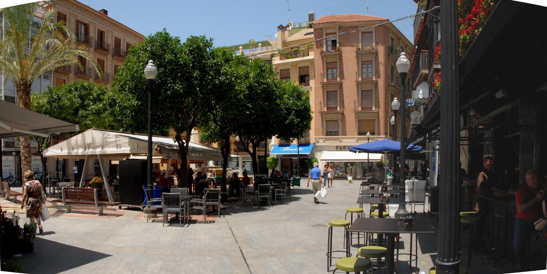 Площадь Цветов в Мурсии