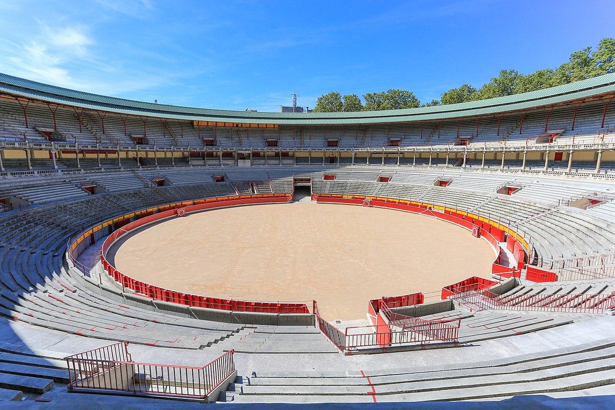 Арена для боя быков в Памплоне