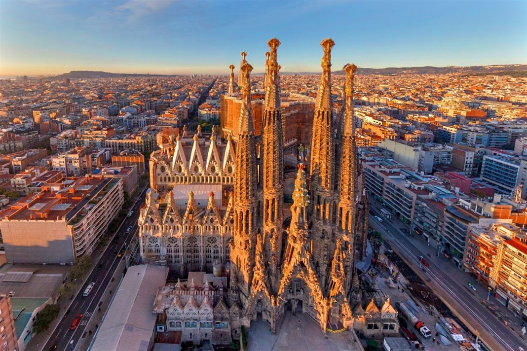 Архитектура Испании в стиле модерн
