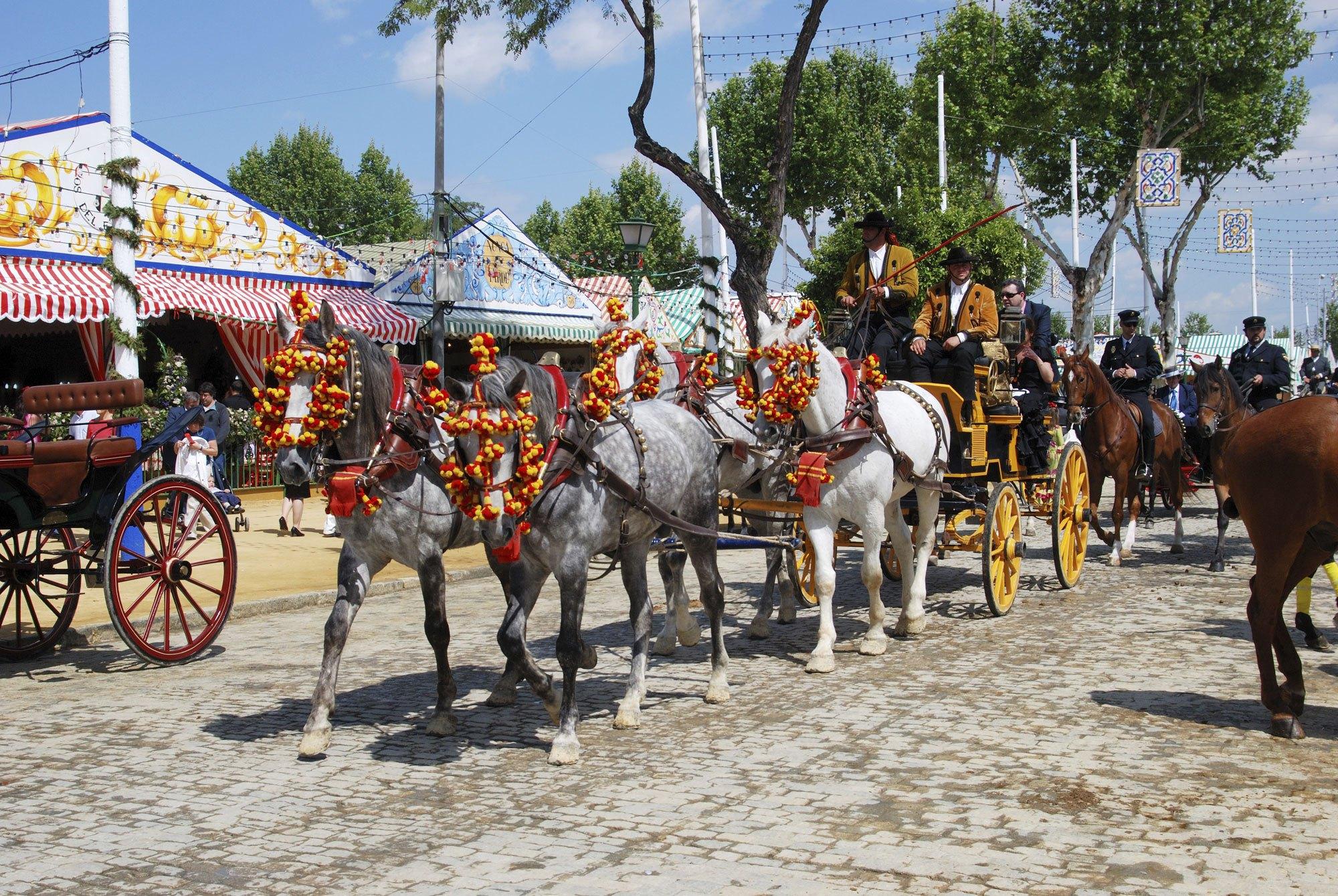 Апрельская ярмарка в Севильи