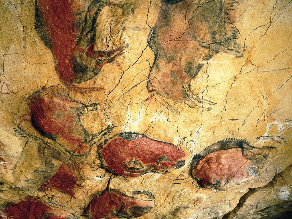 Наскальные рисунки в Альтамире