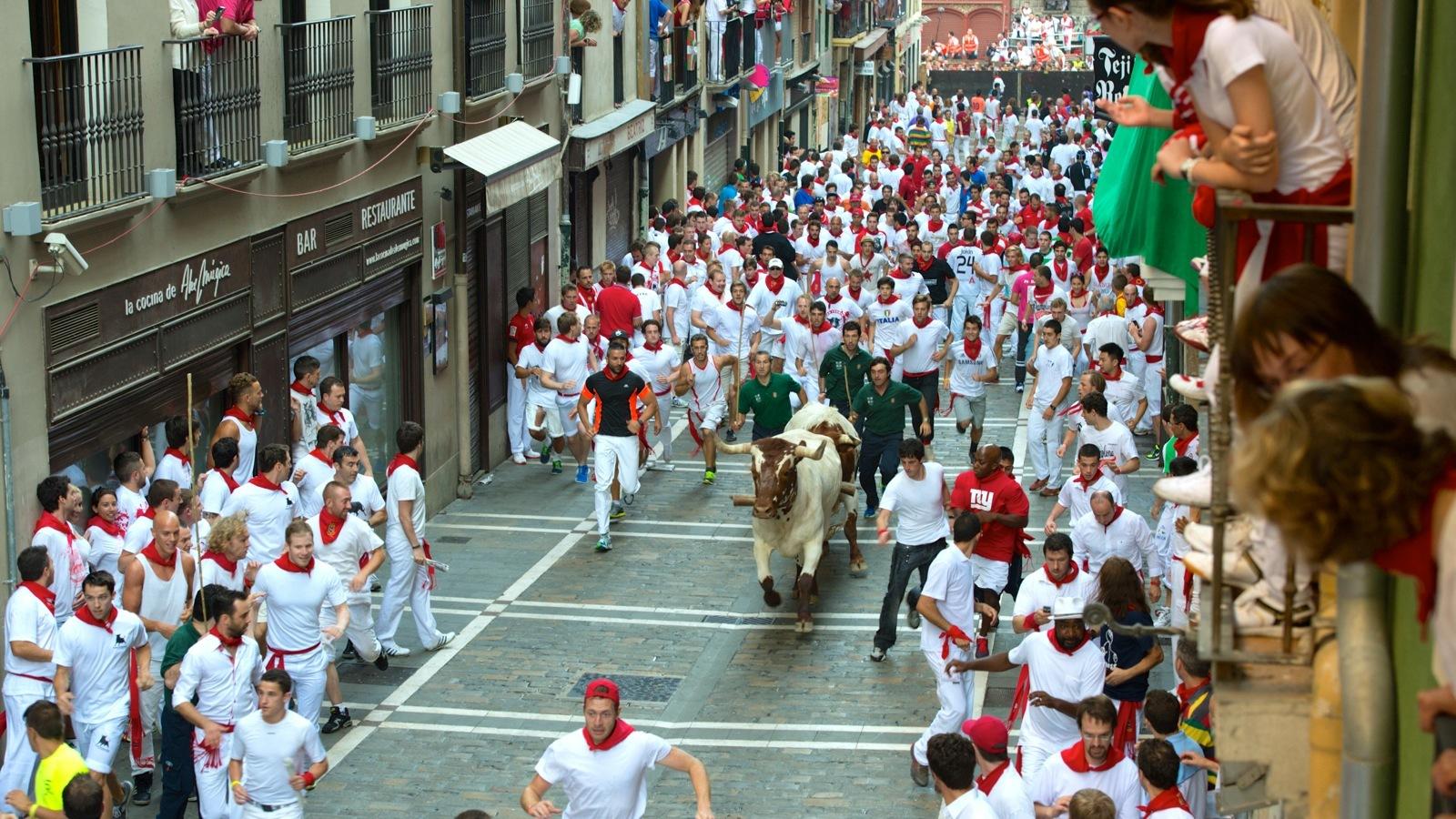 Бег от быков - фестиваль