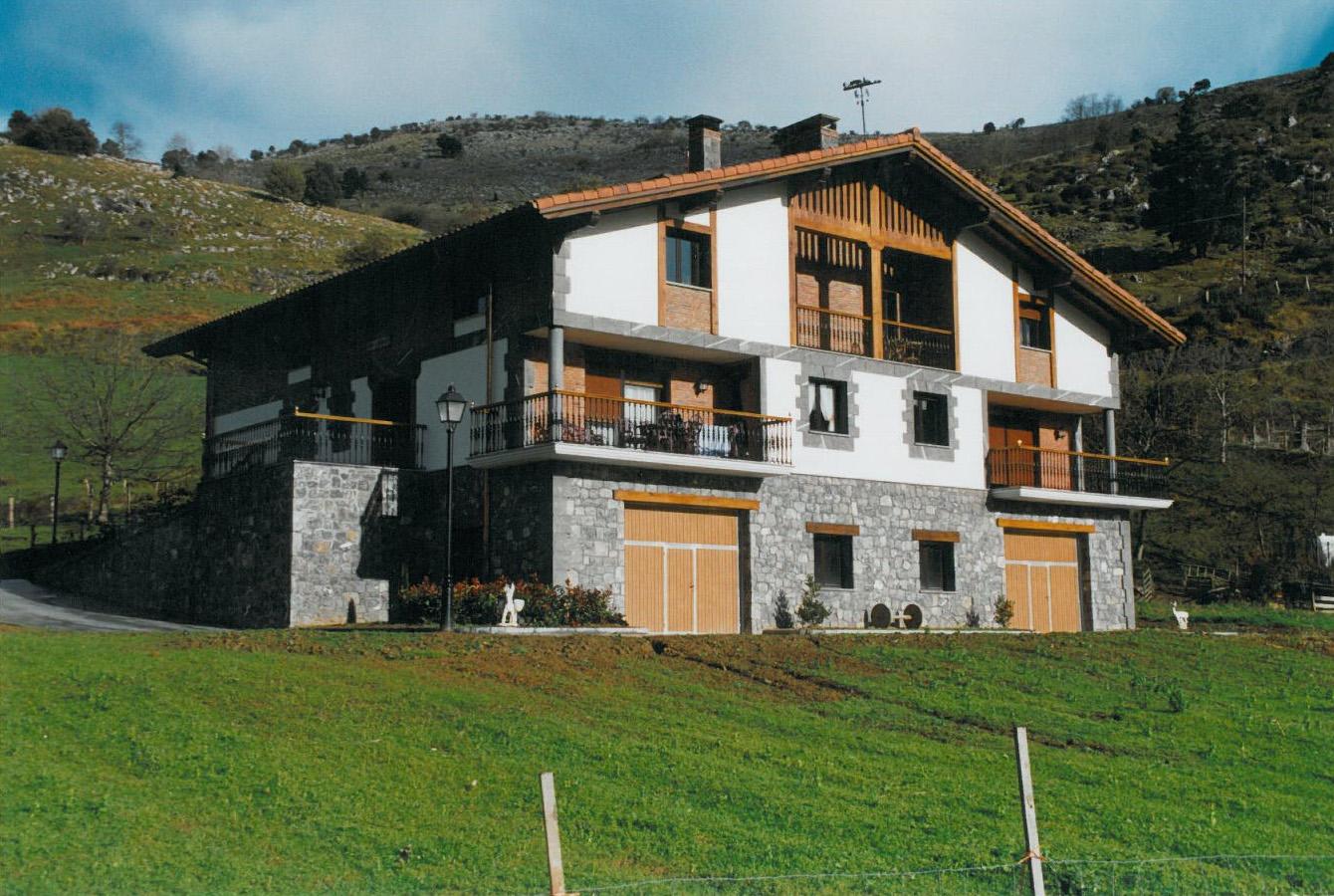 Касериос - жилищные постройки в Испании