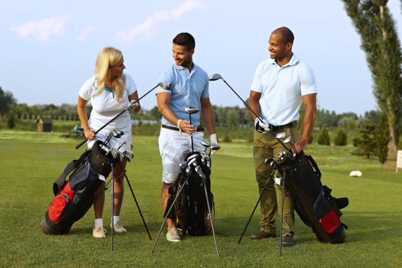Испанцы любят играть в гольф