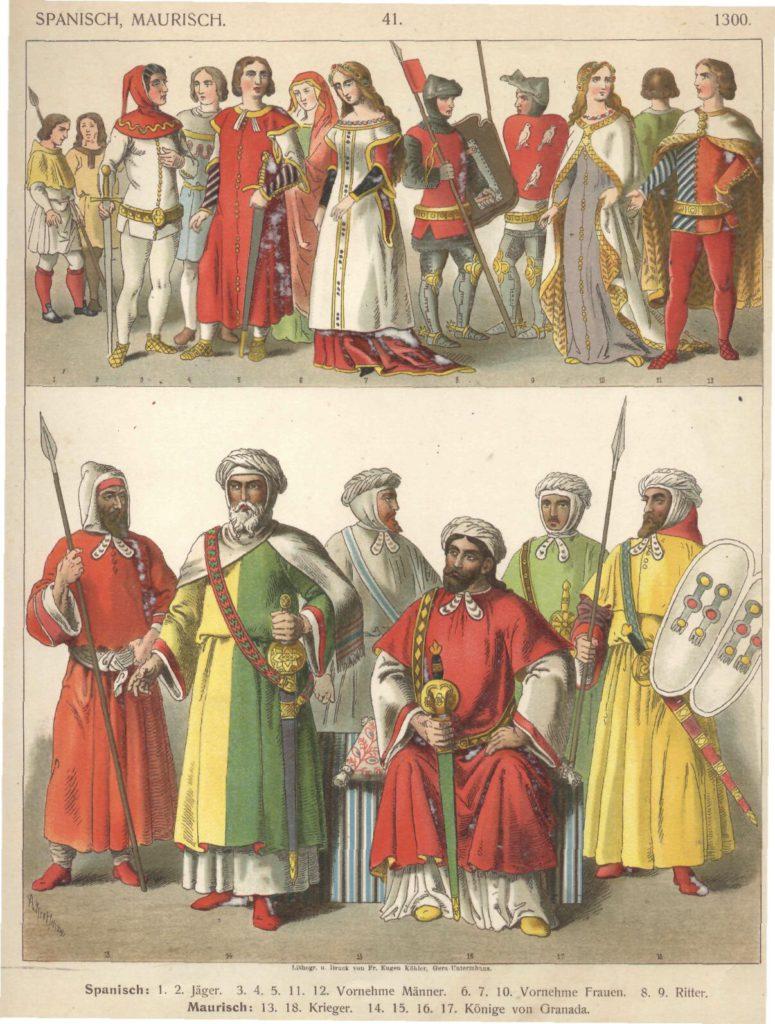 Испанцы и мавры