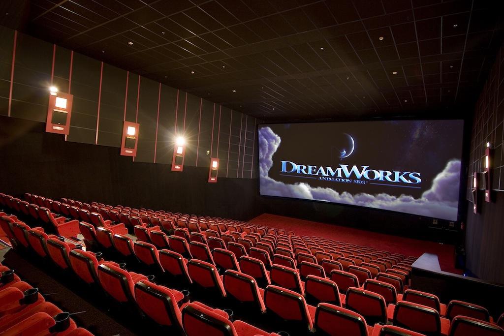 Кинотеатр в Испании