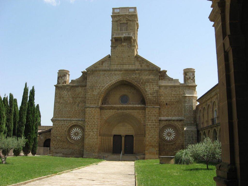 Монастырь Ла-Олива в Наварре
