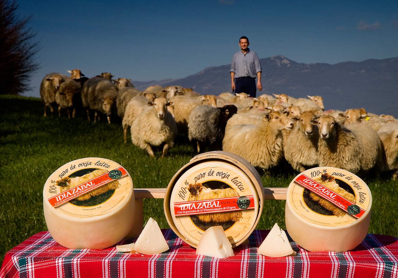 Копченый сыр Идиасабаль