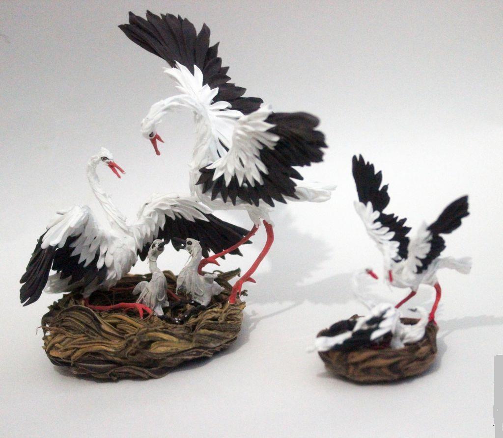 Сувениры с аистами