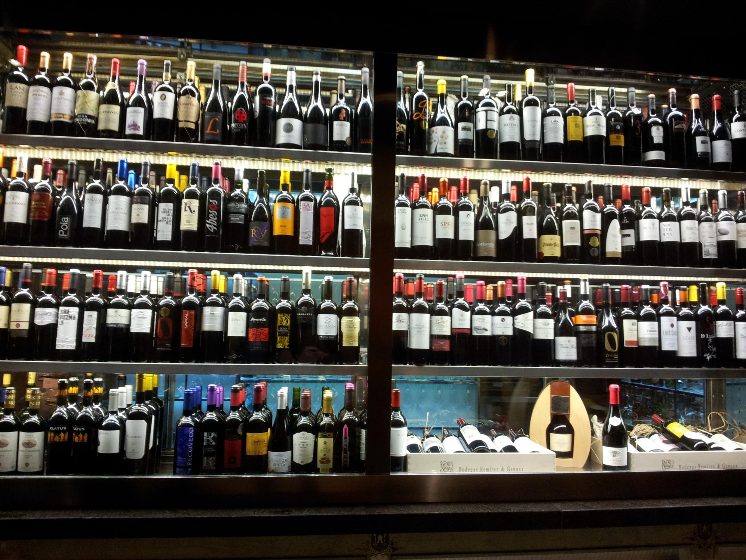 Покупка вина в Риохе