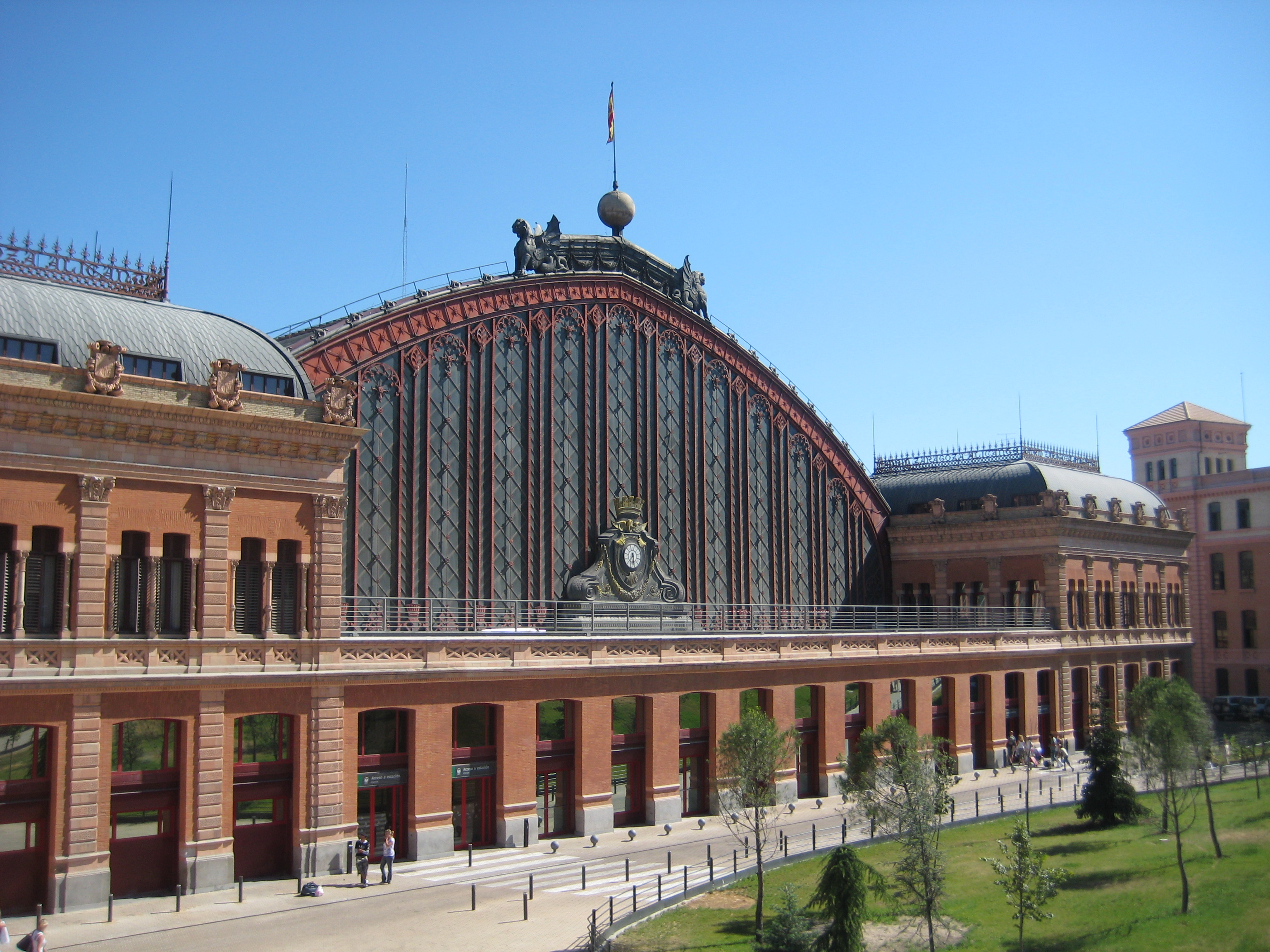Вокзала Аточа в Мадриде