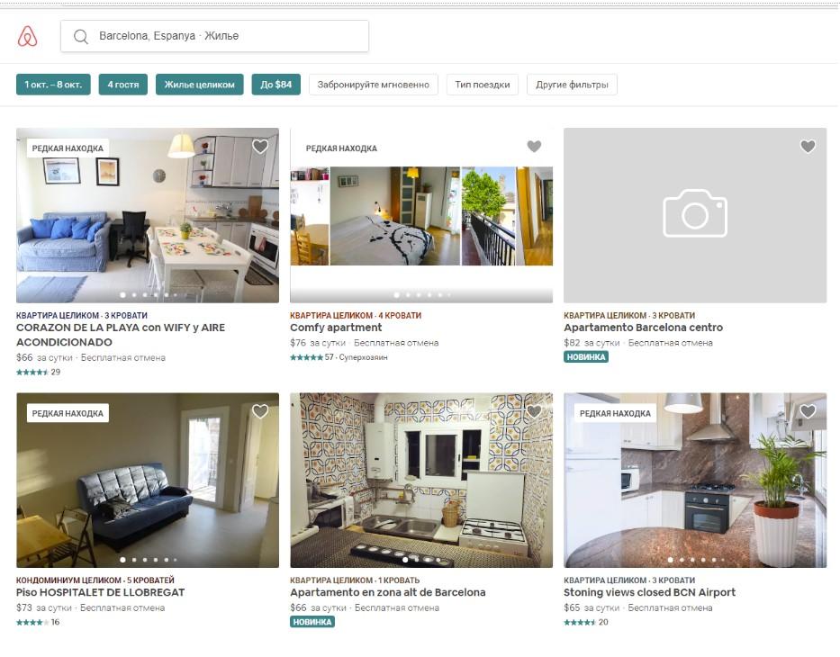 Аренда квартир и домов в Испании